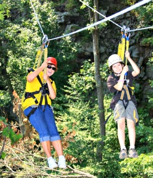 ace adventure zip lining wv