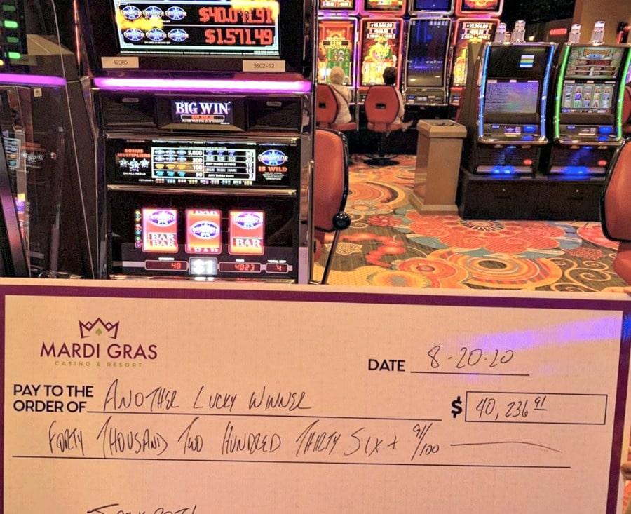 mardi gras casino winner