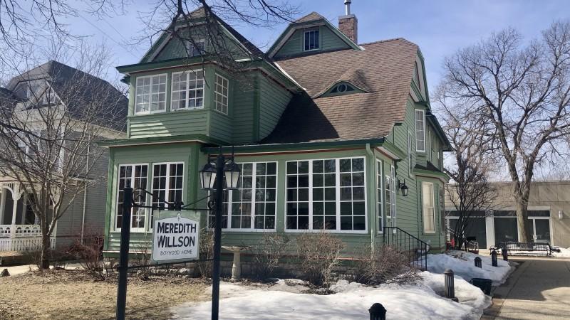 Meredith Wilson childhood home