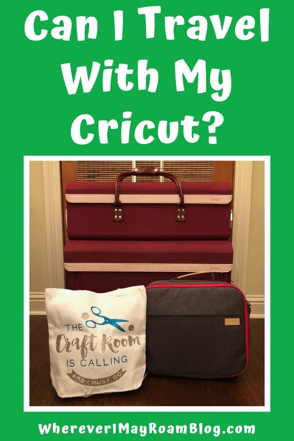 travel with Cricut pin