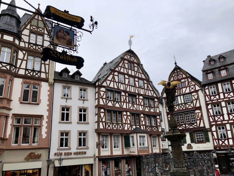 town of Bernkastel Kues Germany