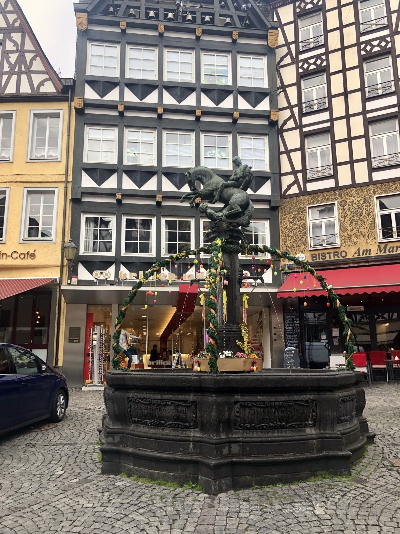 cruise port Cochem Germany with viking river cruise