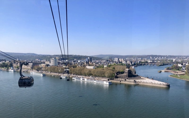 koblenz cable car ride