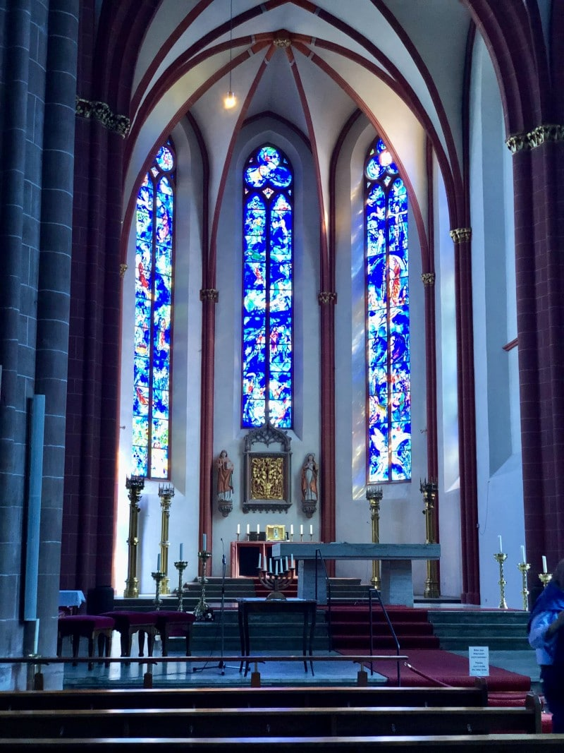 st Stephan cathedral mainz