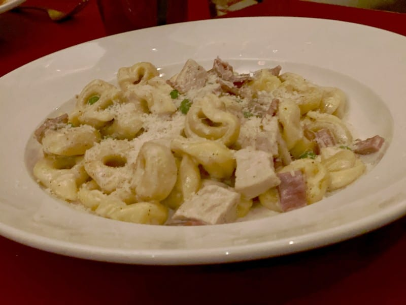 tortellini with cream and chicken st Louis