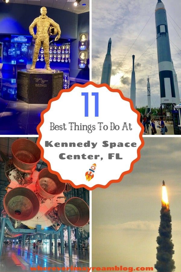 best things to do at Kennedy space center pin