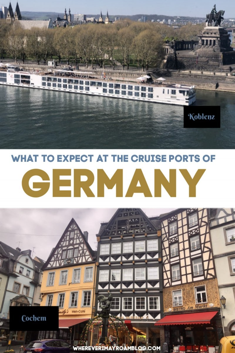 what to do at the cruise ports of germany