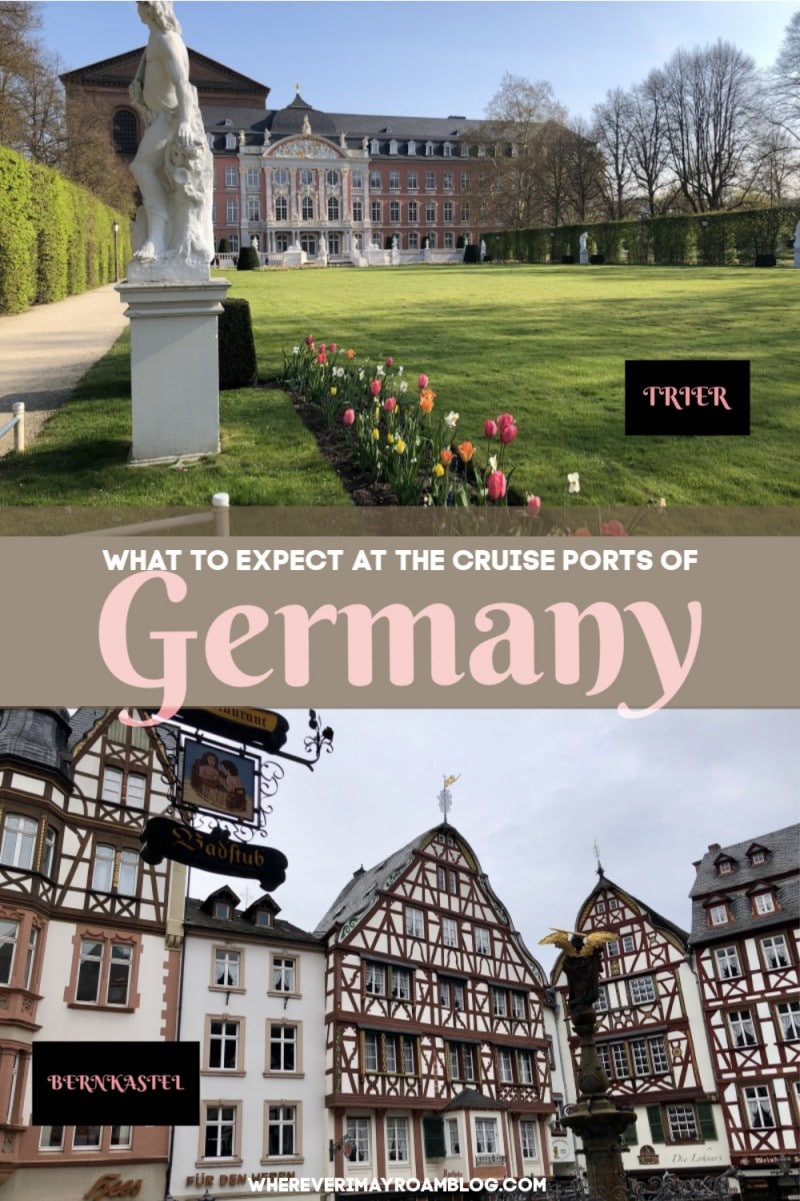 cruise ports of germany pin