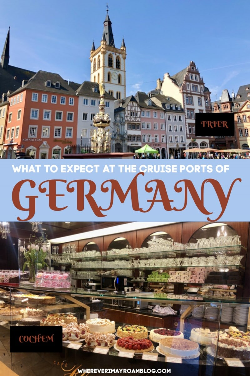 what to do at the cruise ports of germany pin
