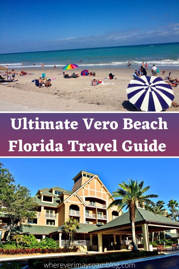 disney resort and beach umbrella in Vero Beach
