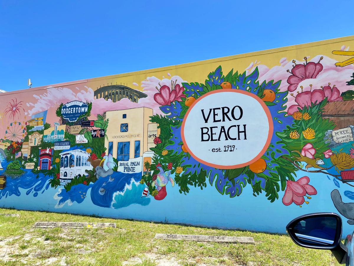 Vero Beach florida mural