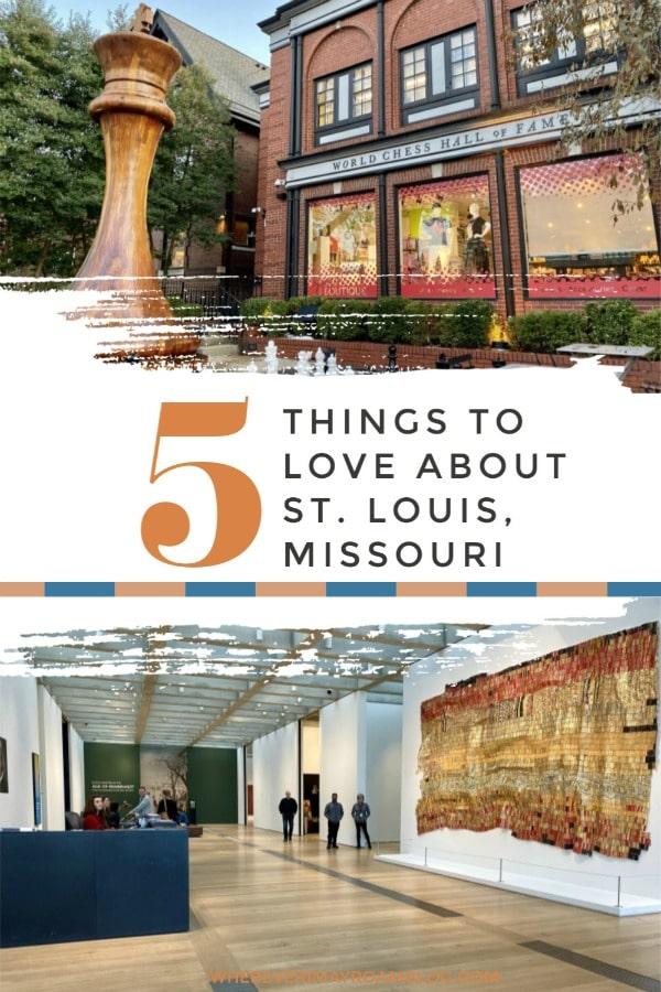 st Louis Missouri pin