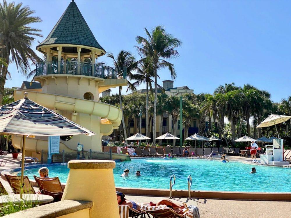 vero beach disney resort pool