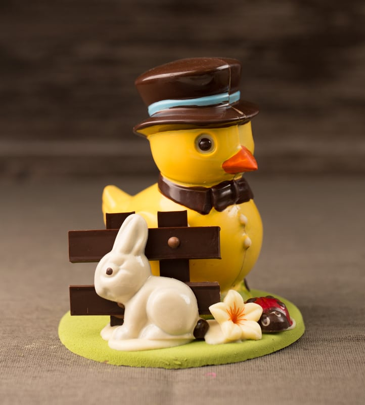 2015 Easter Edward duck chocolate