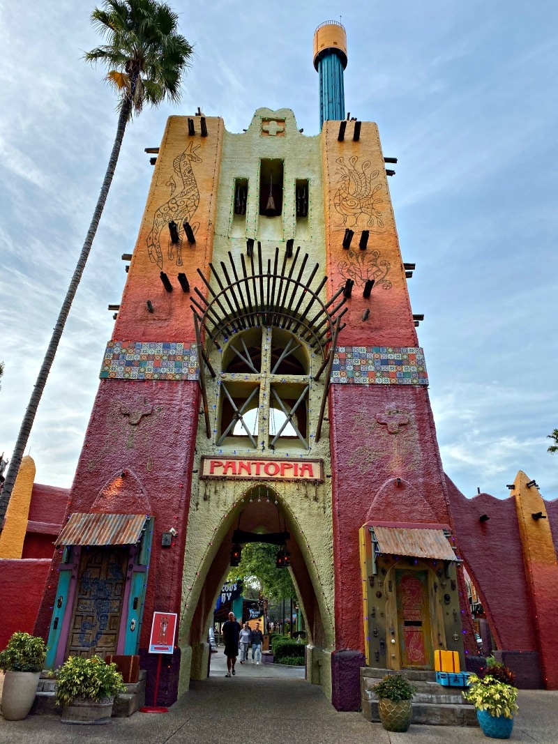 pantopia ride at Busch gardens