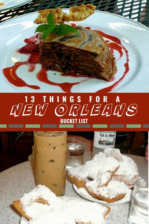 new orleans bucket list