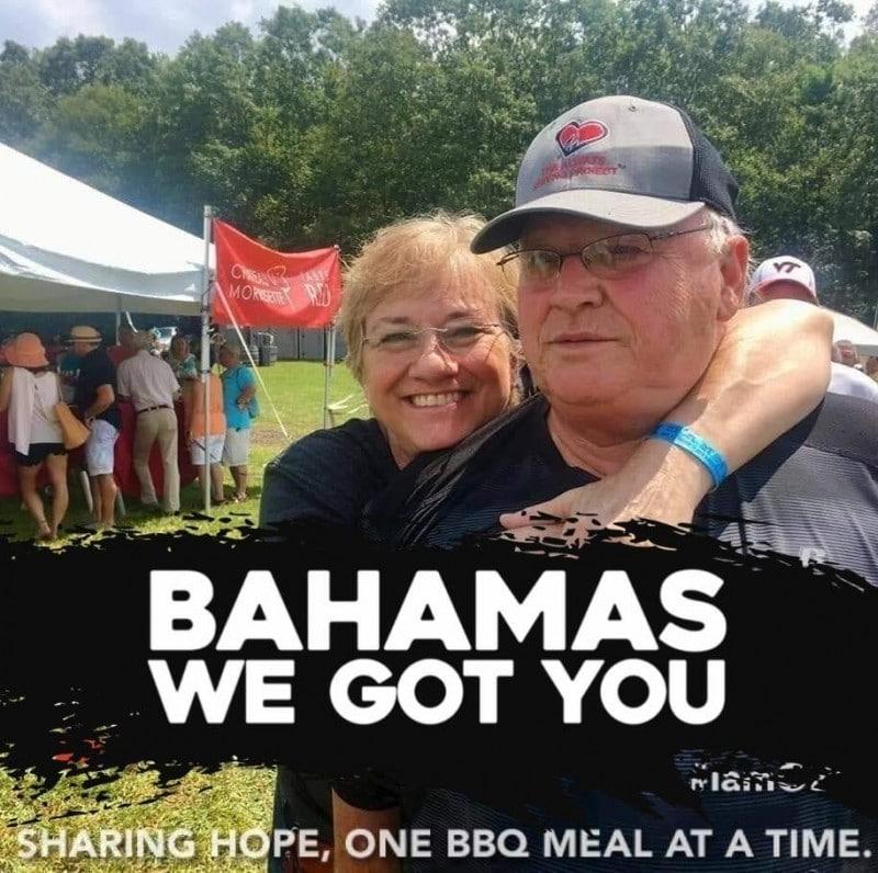 Alan nichols operation bbq feeding Bahamas