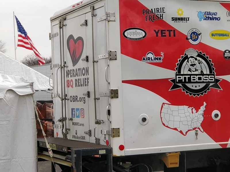 operation bbq relief truck