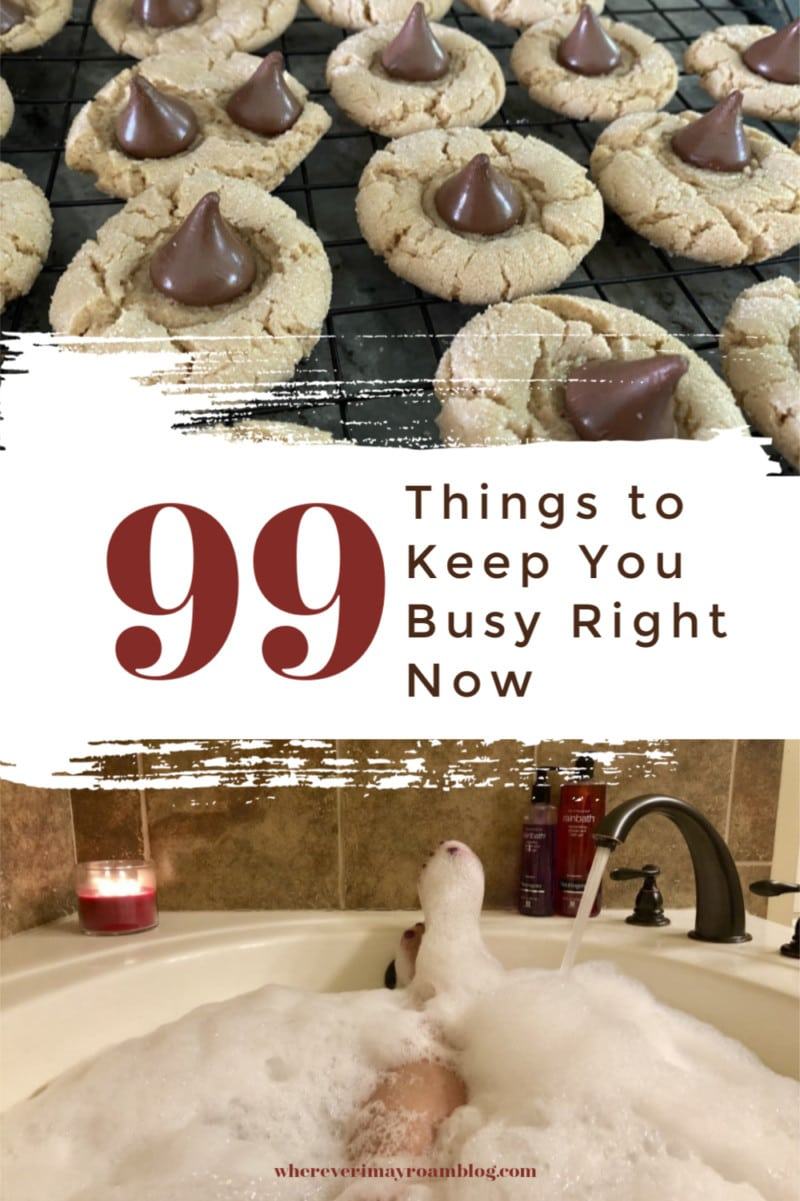 99 things to keep you busy
