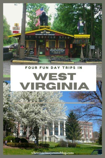 fun day trips in west virgnia