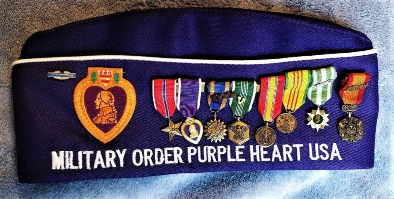 medals on MOPH hat