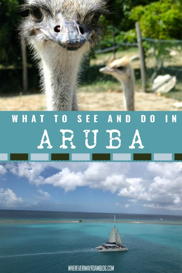 things to see and do in aruba
