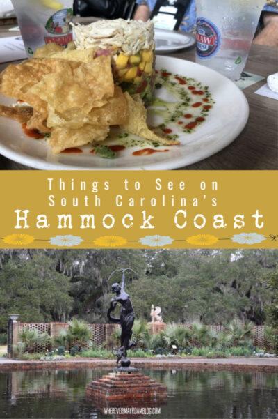 what to do south carolinas hammock coast pin