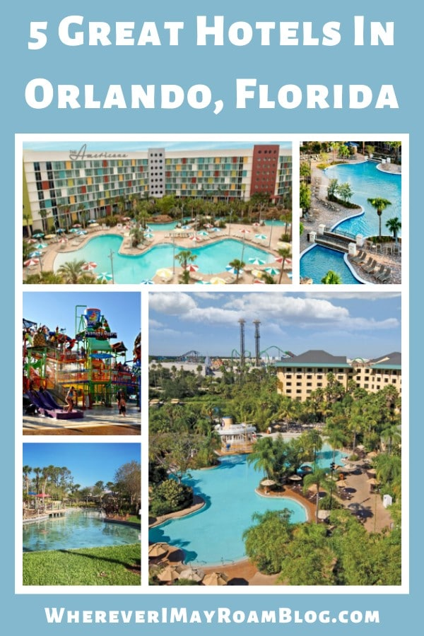 5 Great Hotels In Orlando, Florida pin