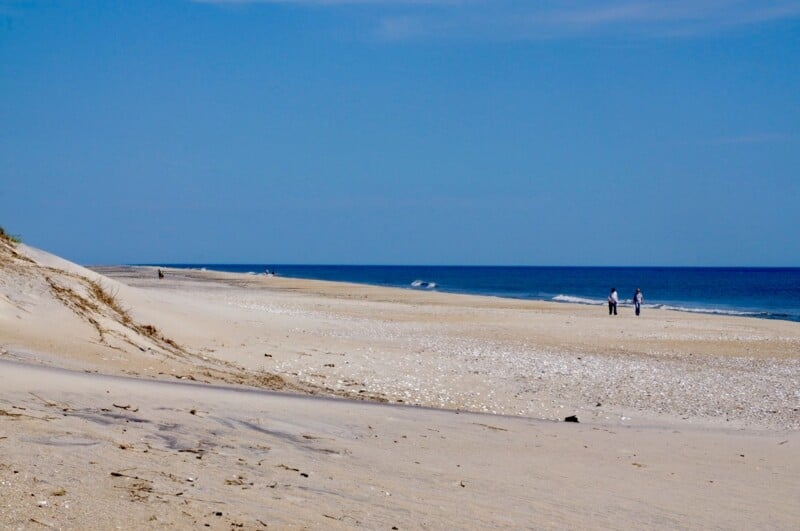beaches of the outer banks North Carolina