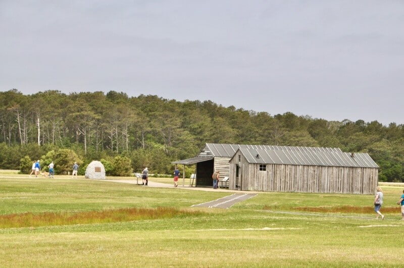 wright brothers memorial in the outer banks