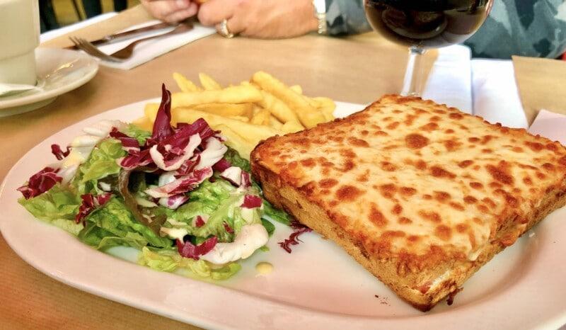 croque monsieur sandwich