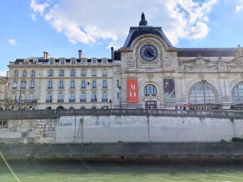 river cruise Paris architecture