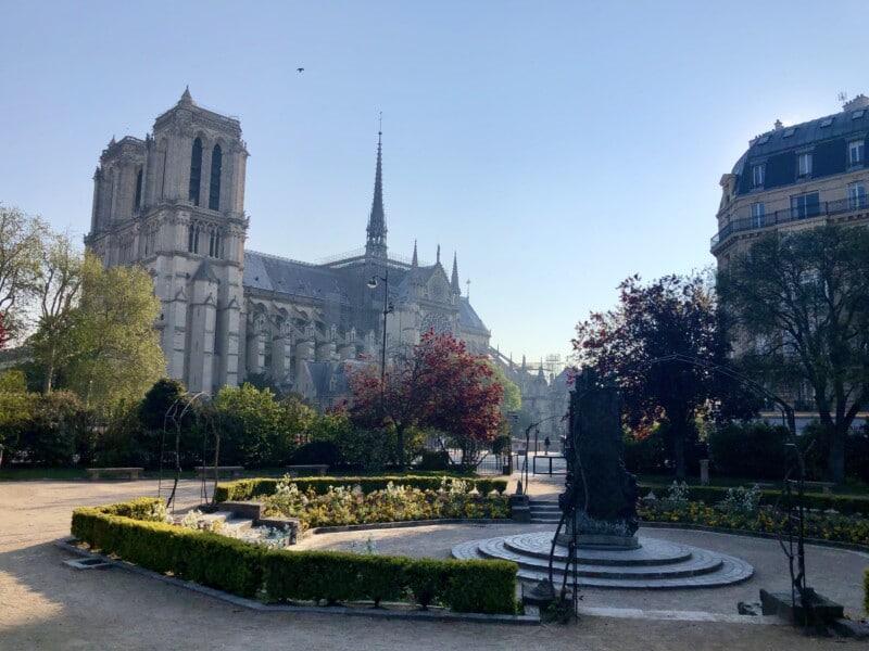 my visit to Paris France