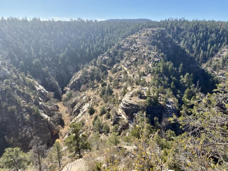 walnut canyon national monument views