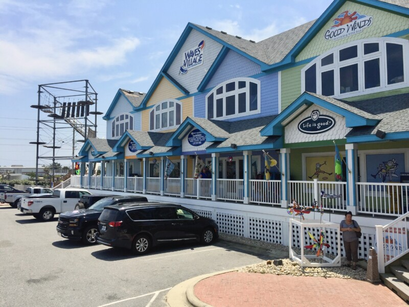 shopping in the outer banks