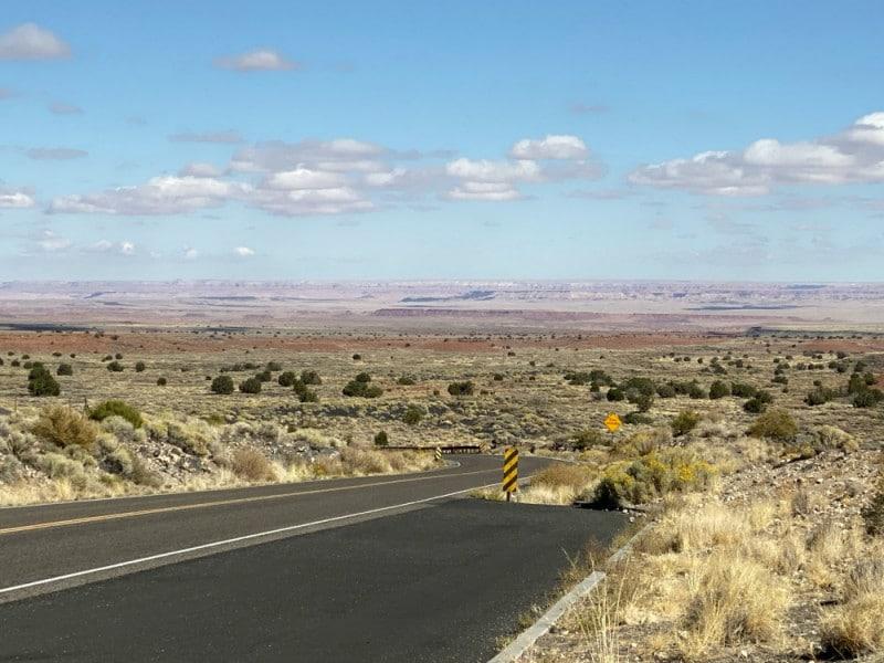 arizona road trip scenery
