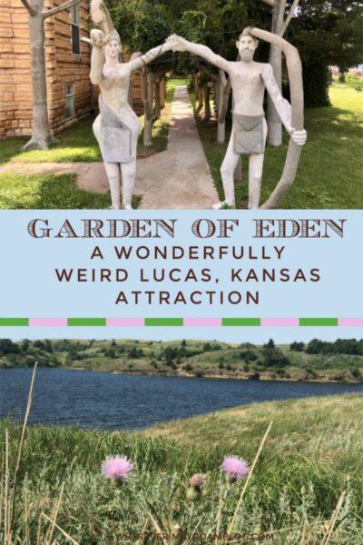 garden of eden grassroots art capitol of Kansas