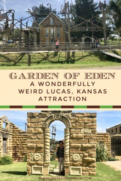 garden of eden in Lucas kansas