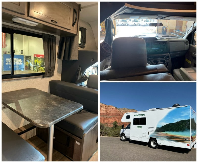 inside cruise america rv