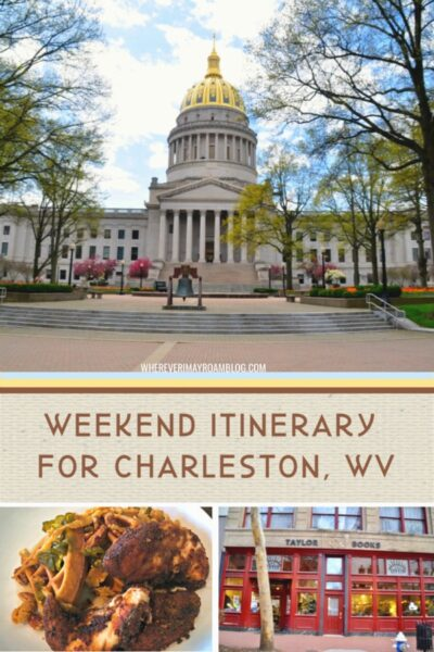 itinerary for charleston West Virginia