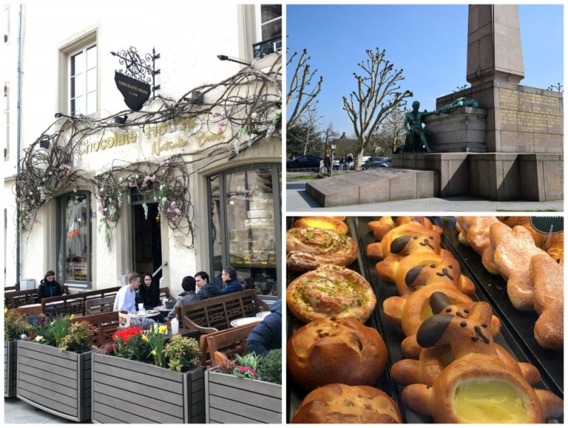 sweet treats and cafes in luxembourg