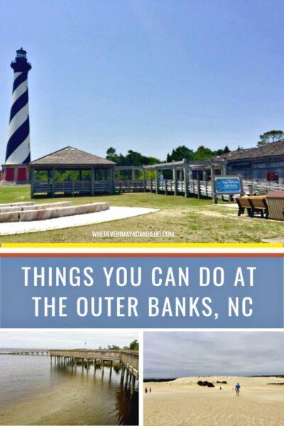 things to do at the outer banks north Carolina