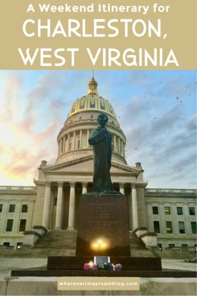 weekend guide for charleston wv