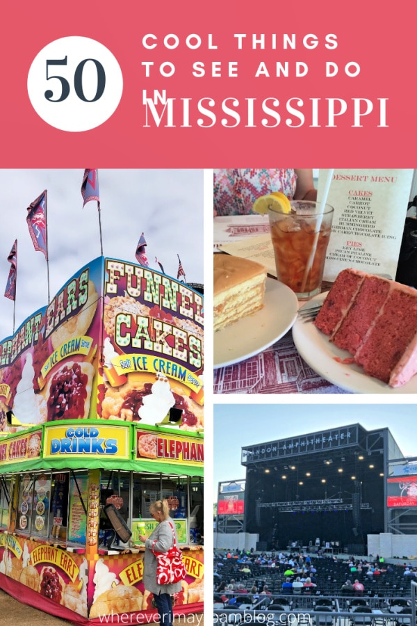 Cool things to see and do in Mississippi