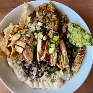 chicken bowl from catch 27