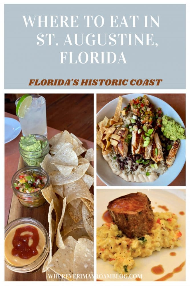 Where to Eat in St. Augustine, Florida