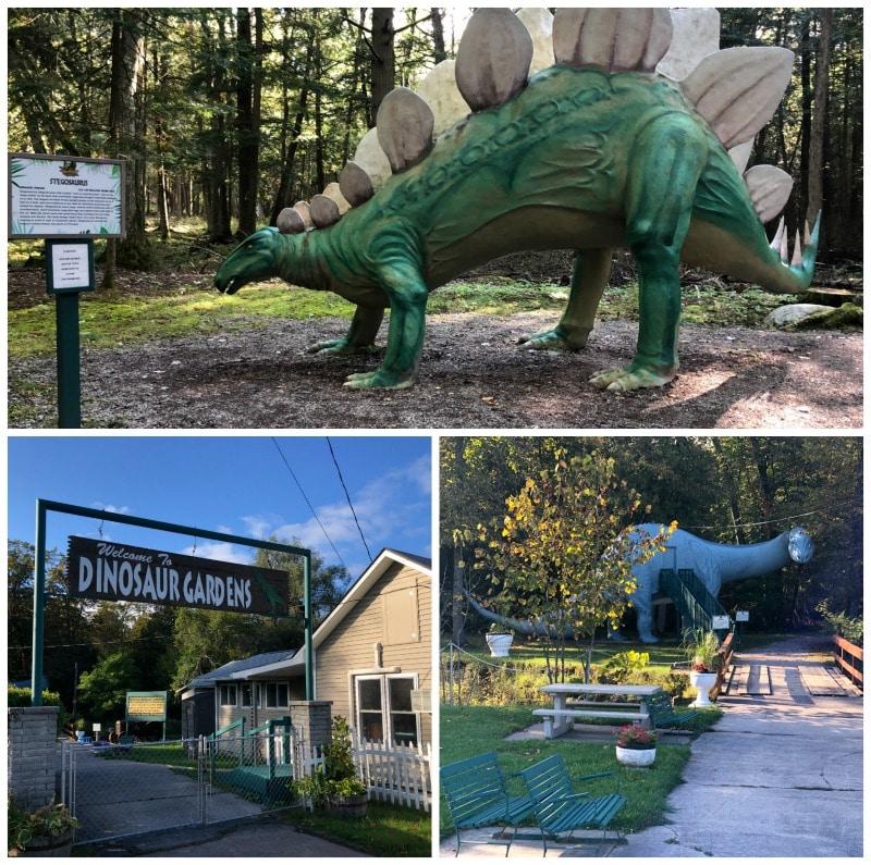 dinosaur gardens roadside attraction
