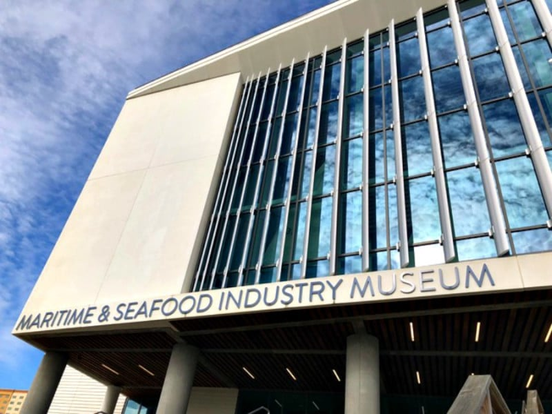 maritime museum and seafood industry