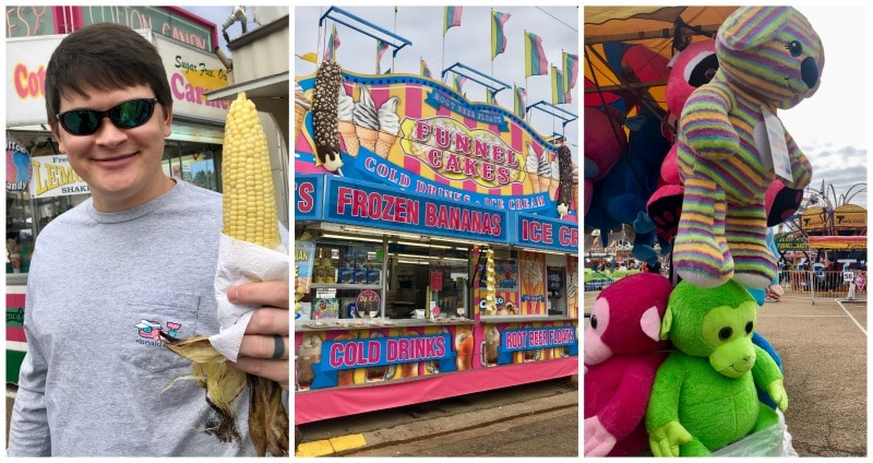 mississippi state fair food and fun