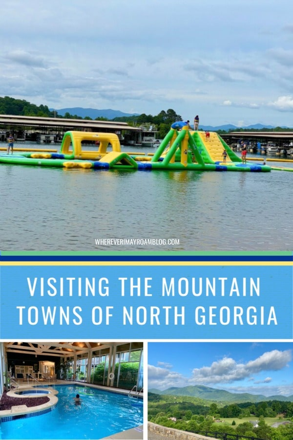 the mountain towns of North Georgia